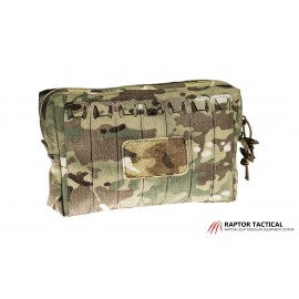 Raptor Large Utility SHIELD Pouch with ChemLights