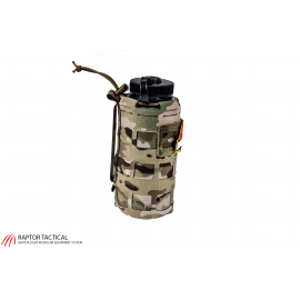 32 oz Water Bottle Cover Closed Molle
